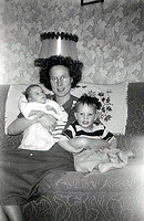 Grace Baby and son Dec 1952